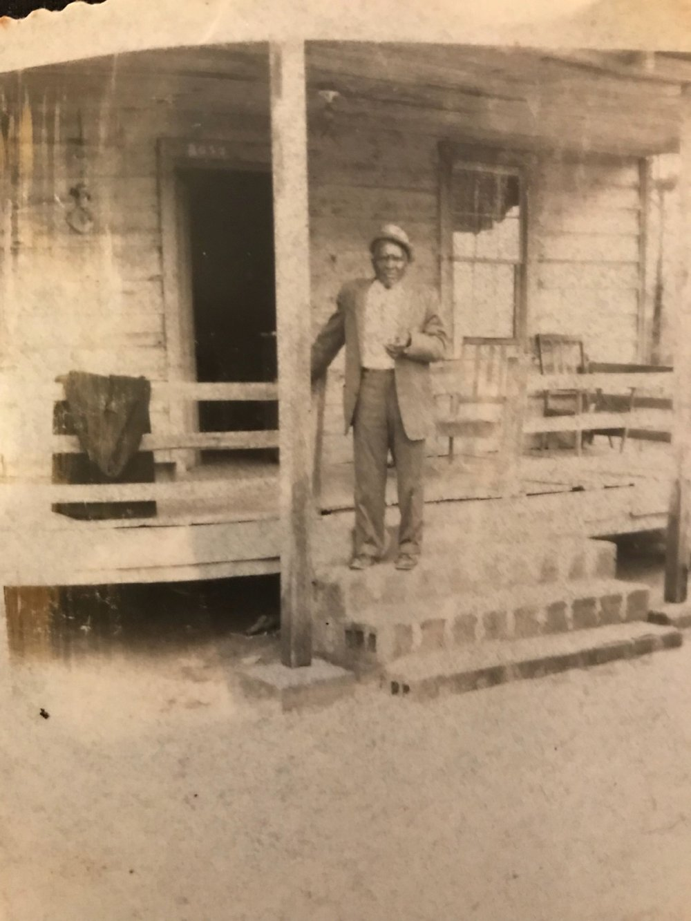 A rare photo of Jenkins McFadden, one of the many sons of Samuel James McFadden. He was born in 1892.