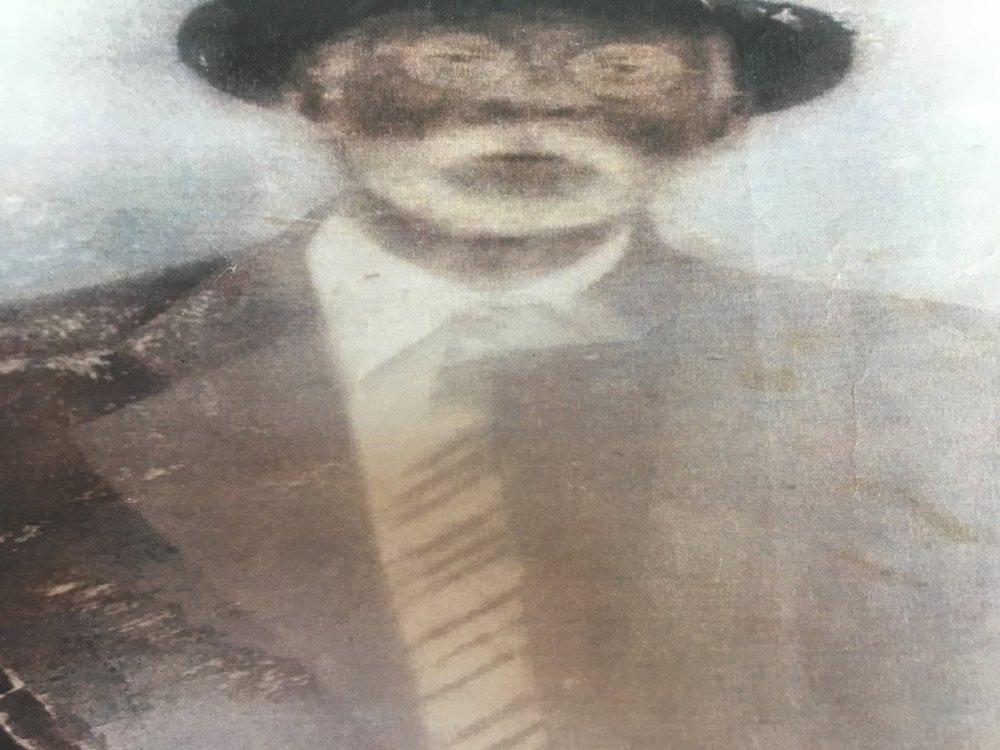 A possible photo of Hilliard Rush - either the senior Hilliard or his son, Hilliard Rush Jr.