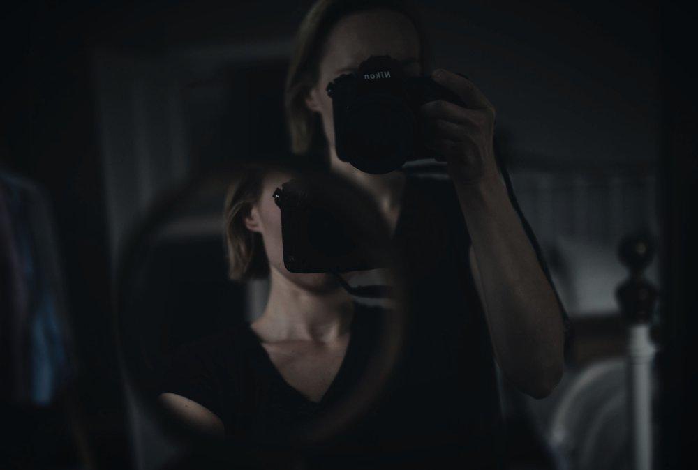 self-portrait mirror