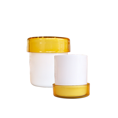 Yali Murano Glass containers - from Studio x viaduct - price on request