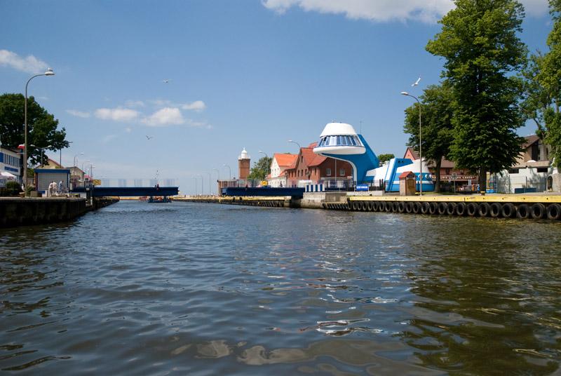Most rozsuwany - w Darłówku