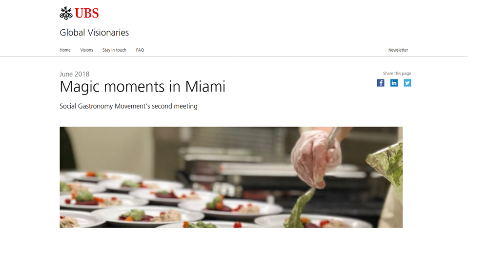 UBS Bank - Magic Moments in Miami