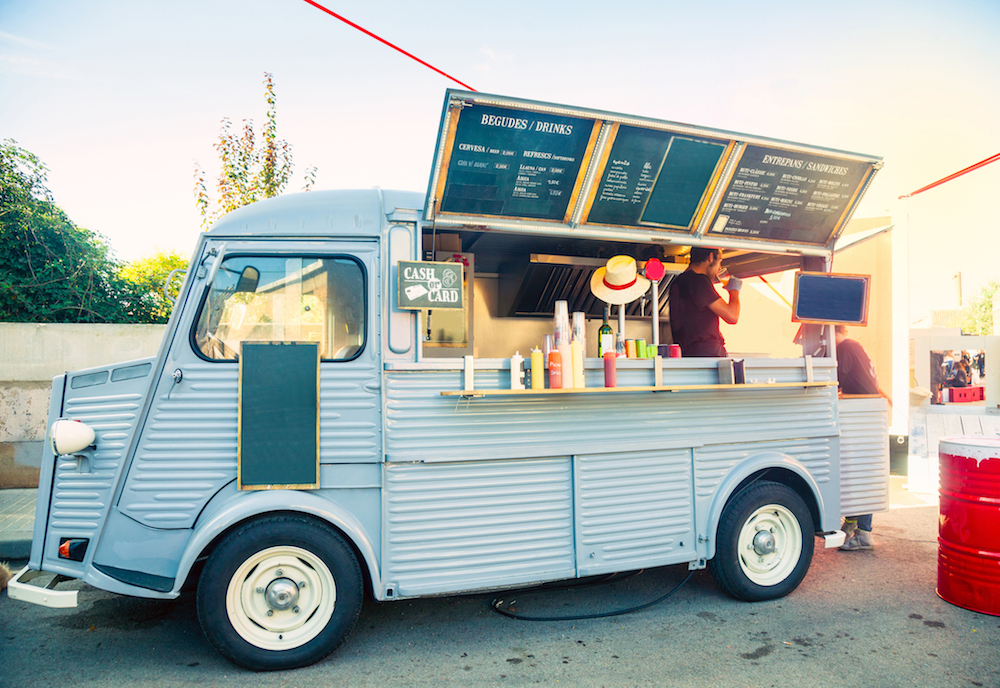 The Social Gastronomy food truck -