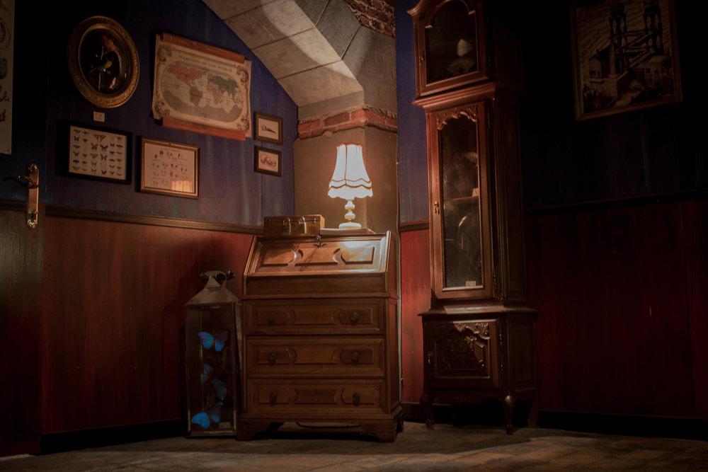 Enigma Room - Hendrick's Gin