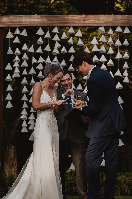 modern outdoor wedding Raleigh NC