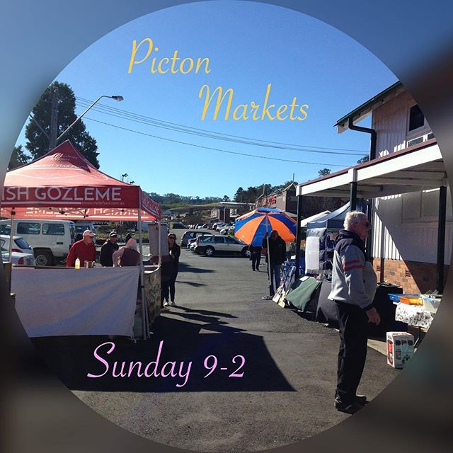 Picton Markets is this Sunday! Don't forget to wind your clocks FORWARD and spring into daylight savings! #pictonmarkets #itsalovelydayout #pictonnsw #wollondilly #wollondillymarkets #sydney #sydneymarkets #macarthur #roadtripdestination #macarthur #southernhighlands #handcrafted