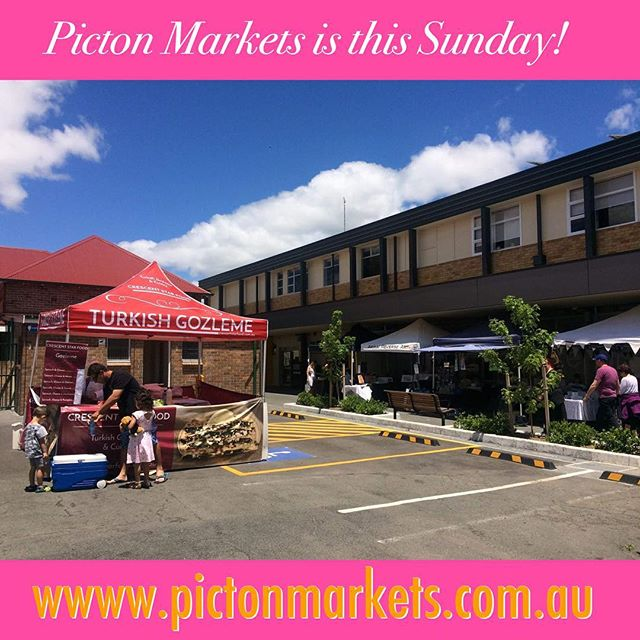 Picton Markets returns for 2018! 9am - 2pm this Sunday at Wollondilly Shire Hall, Menangle St Picton. . With all your favourite stalls and some new ones: this month, the stage is starred by Kaeli and Harrison. . See the freshly launched www.pictonmarkets.com.au for more info! . #pictonmarkets #itsalovelydayout #wollondilly #wollondillyshire #wollondillymarkets #macarthur #picton #pictonnsw #australia #shopsmall #shoplocal #heylooknewwebsite #es4cn #sydneyweekender #livecreative #livemusic