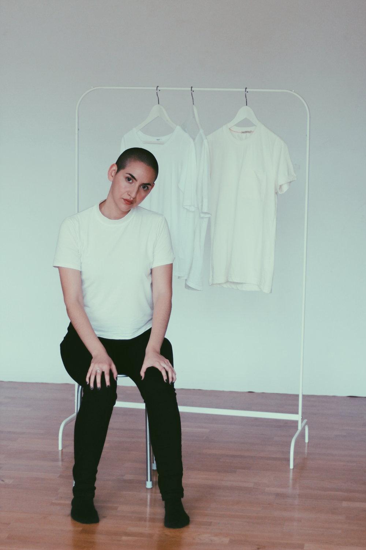 Den vita T-shirten - T-shirt i ekologisk bomull, bambu eller tencel