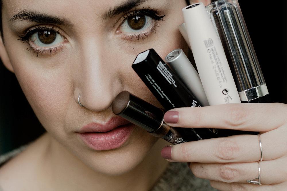 mascara close up