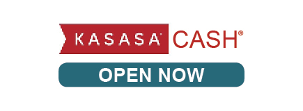 KASASA Cash Open Now