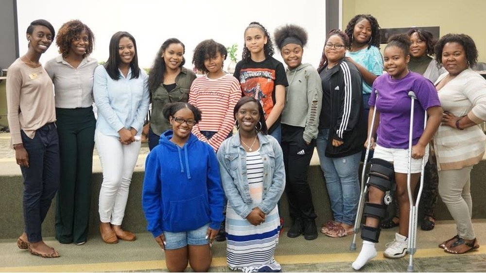 Partnership with UNC Charlotte and Firm Foundations Youth & Family Outreach - GIRL CHATMay 19, 2018We co-wrote an agenda and provided a safe space for young high school women to explore their thoughts on mental health.We also connected them to area counselors who provided them with resoruces and advice for their personal questions and concerns.
