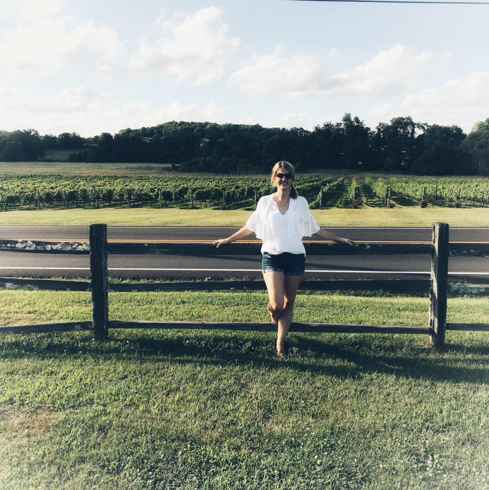 We travel not to escape life, but for life not to escape us. -unknown - Arrington Vineyards, June 2018