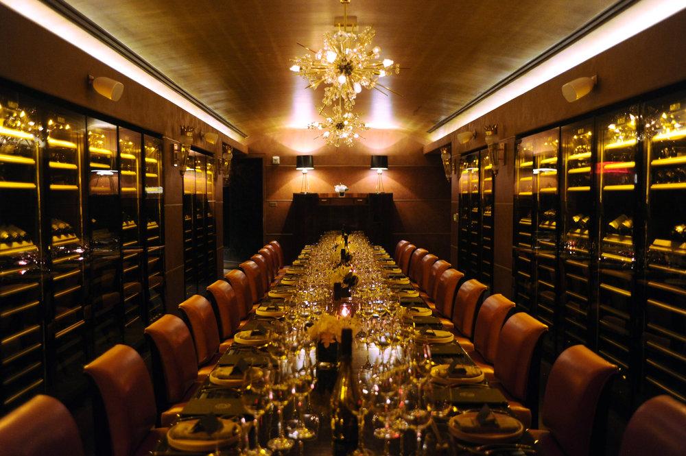 armand de brignac | champagne dinner