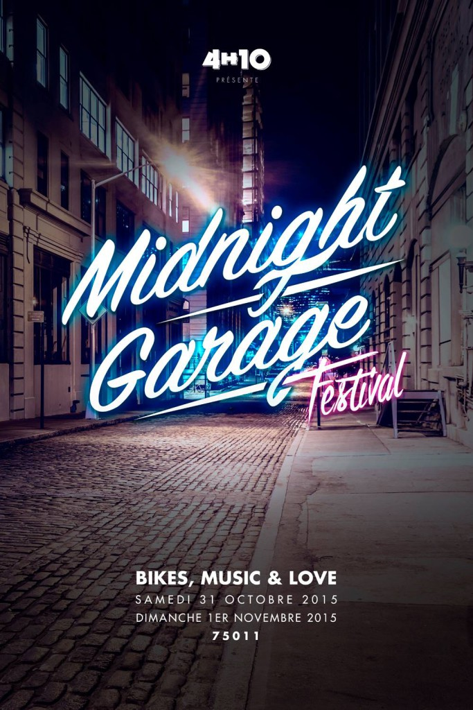 "First edition of the ""Midnight Garage Festival"" in Paris organized by 4h10 (French Webzine)"