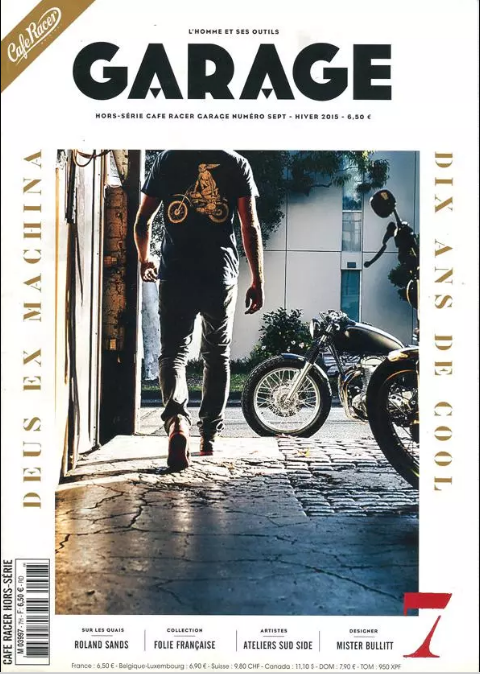 Cafe Racer H-S Garage winter 2015