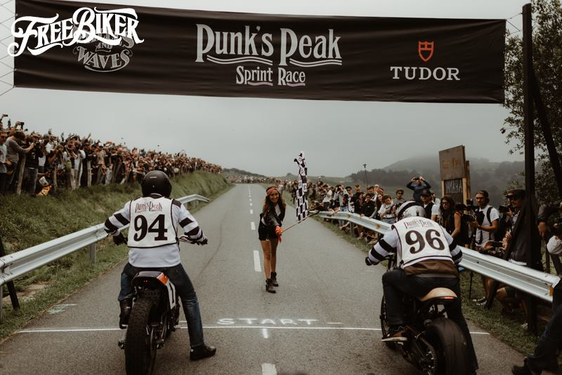 Wheels & Waves  - Punk's Peak Race with