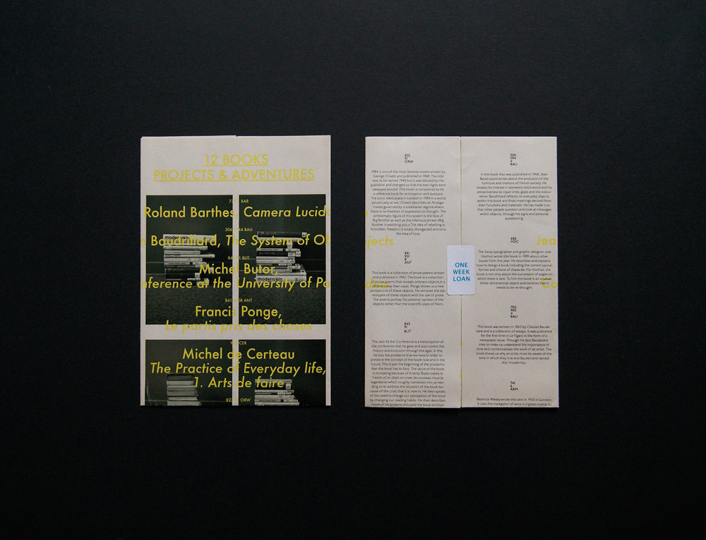 Invitation & livret d'exposition