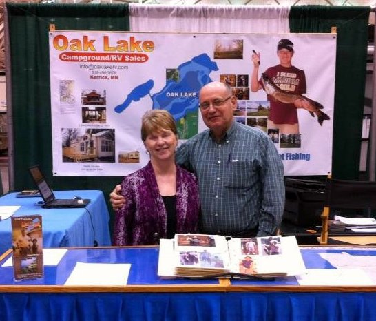 your hosts - Norma & Henry Hoffman, Owners // Oak Lake Campground