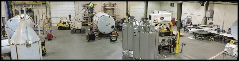 BSI Operates:    A 31,000 sq ft STAINLESS ONLY Facility   from which we specialize in the fabrication of Stainless Sanitary Tanks and Vessels up to 30,000 gallons as well as a wide variety of custom stainless equipment and components.