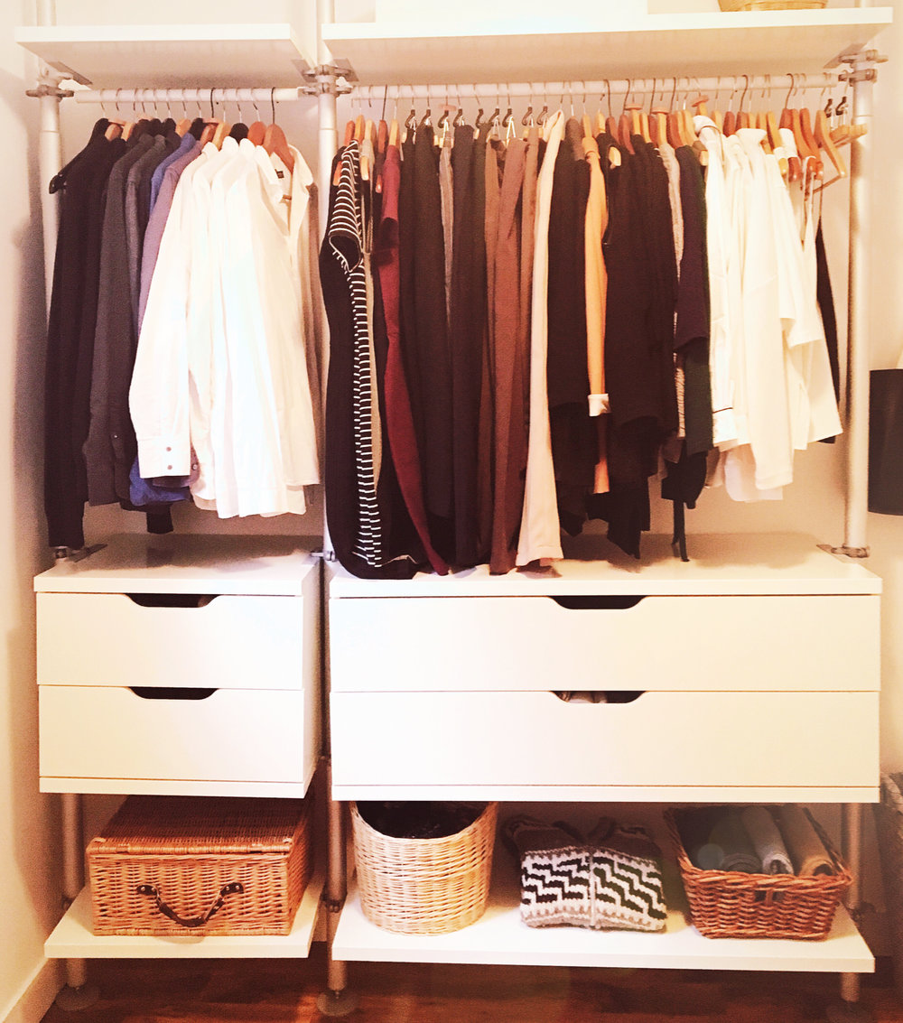 THE FUNKY FRESH / CLOSET MAKEOVER