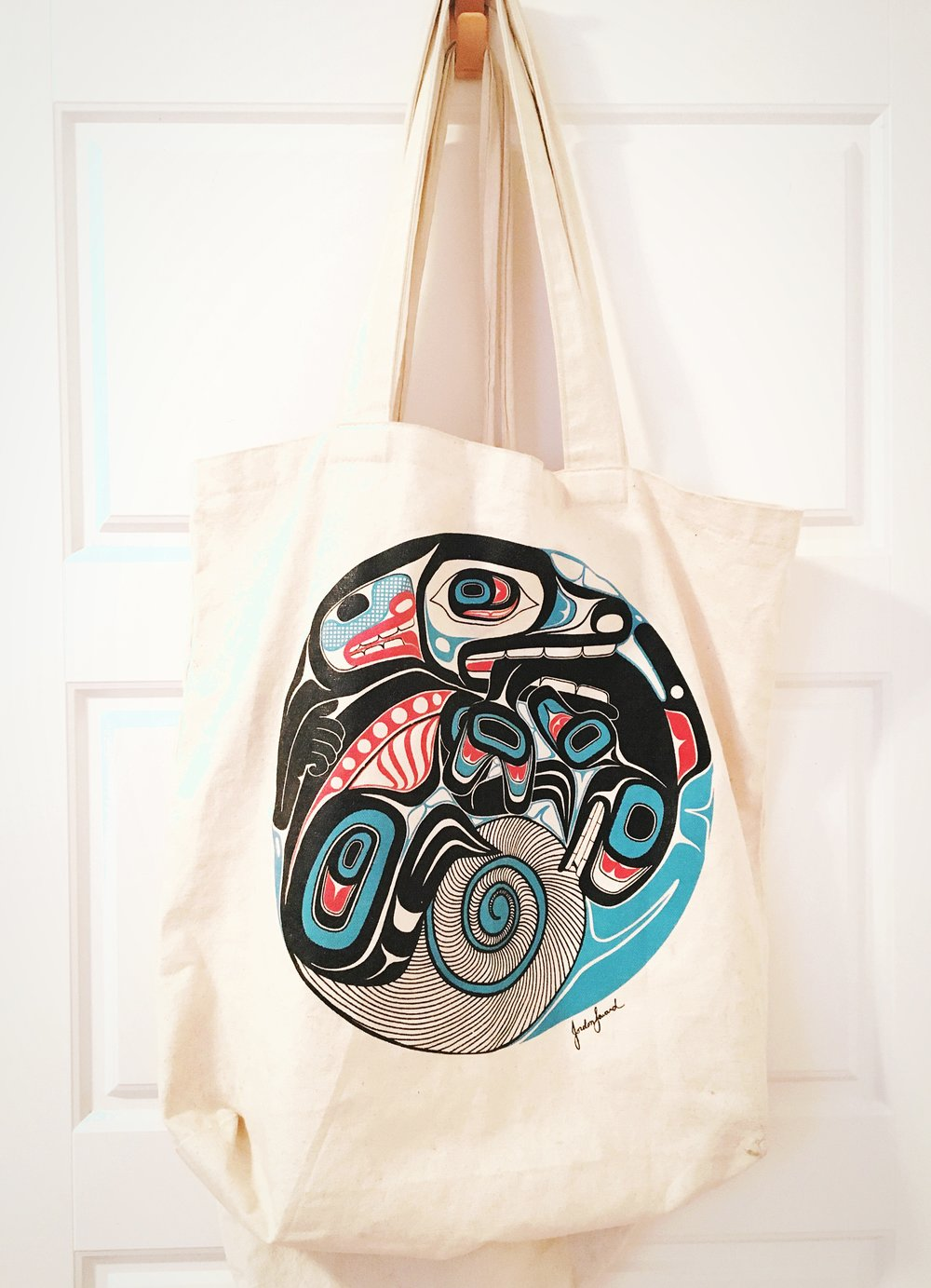 THE FUNKY FRESH / NATIVE ART TOTE