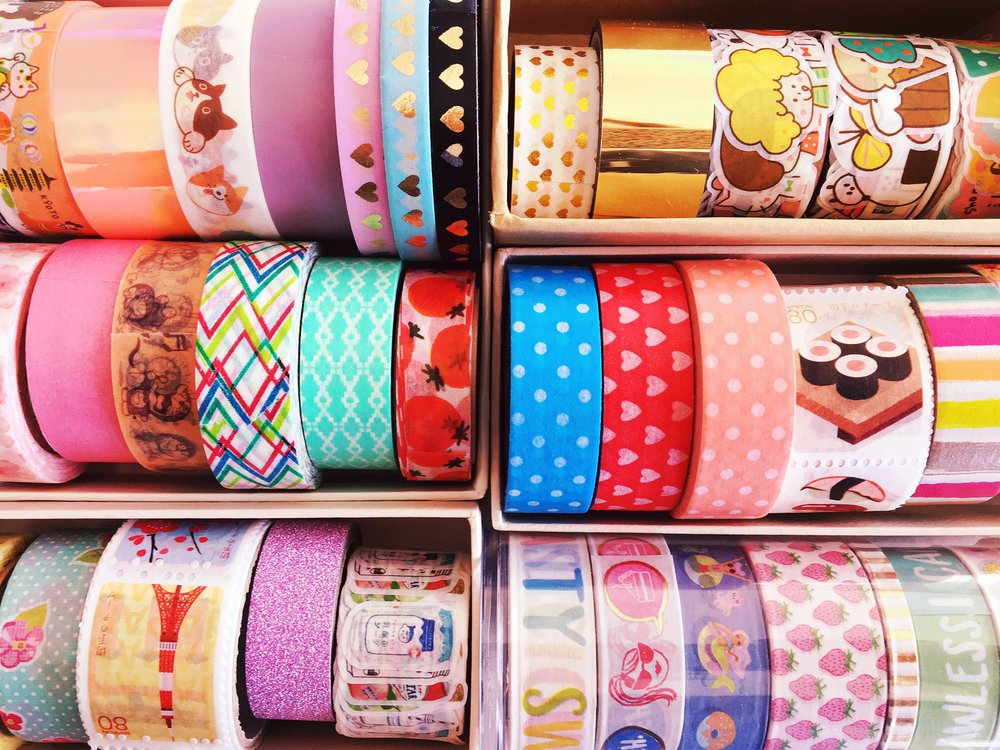 THE FUNKY FRESH / WASHI TAPE COLLECTION
