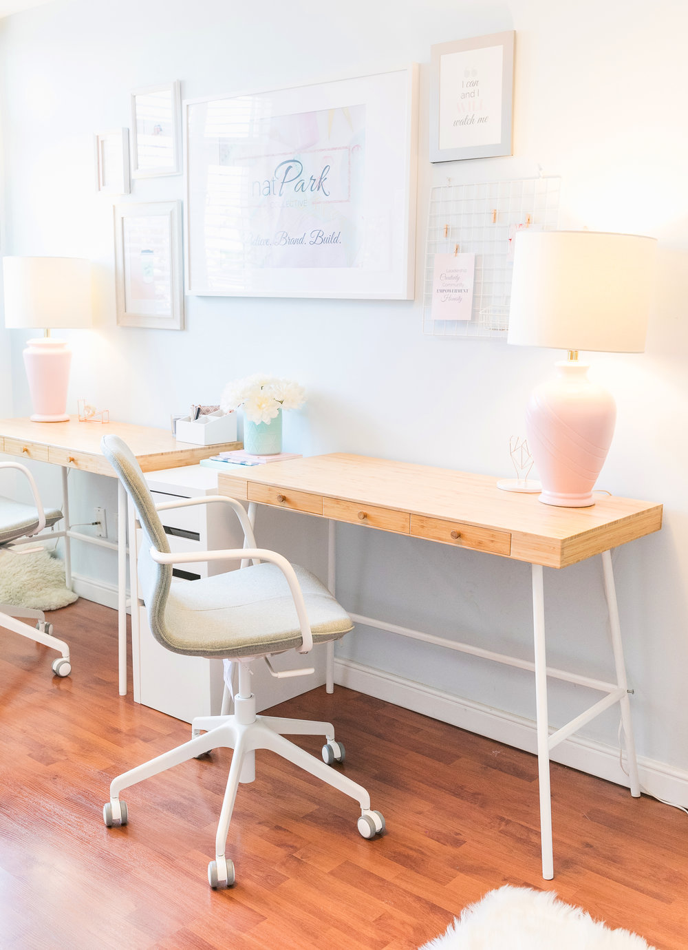 THE FUNKY FRESH / PRETTY OFFICE MAKEOVER