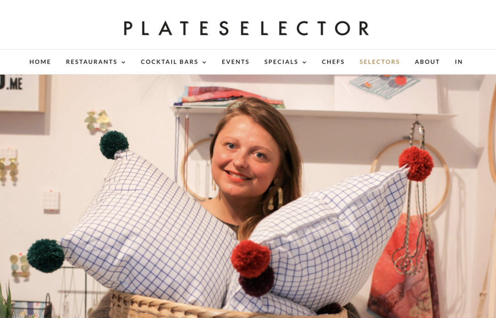 PLATE SELECTOR - November 2017