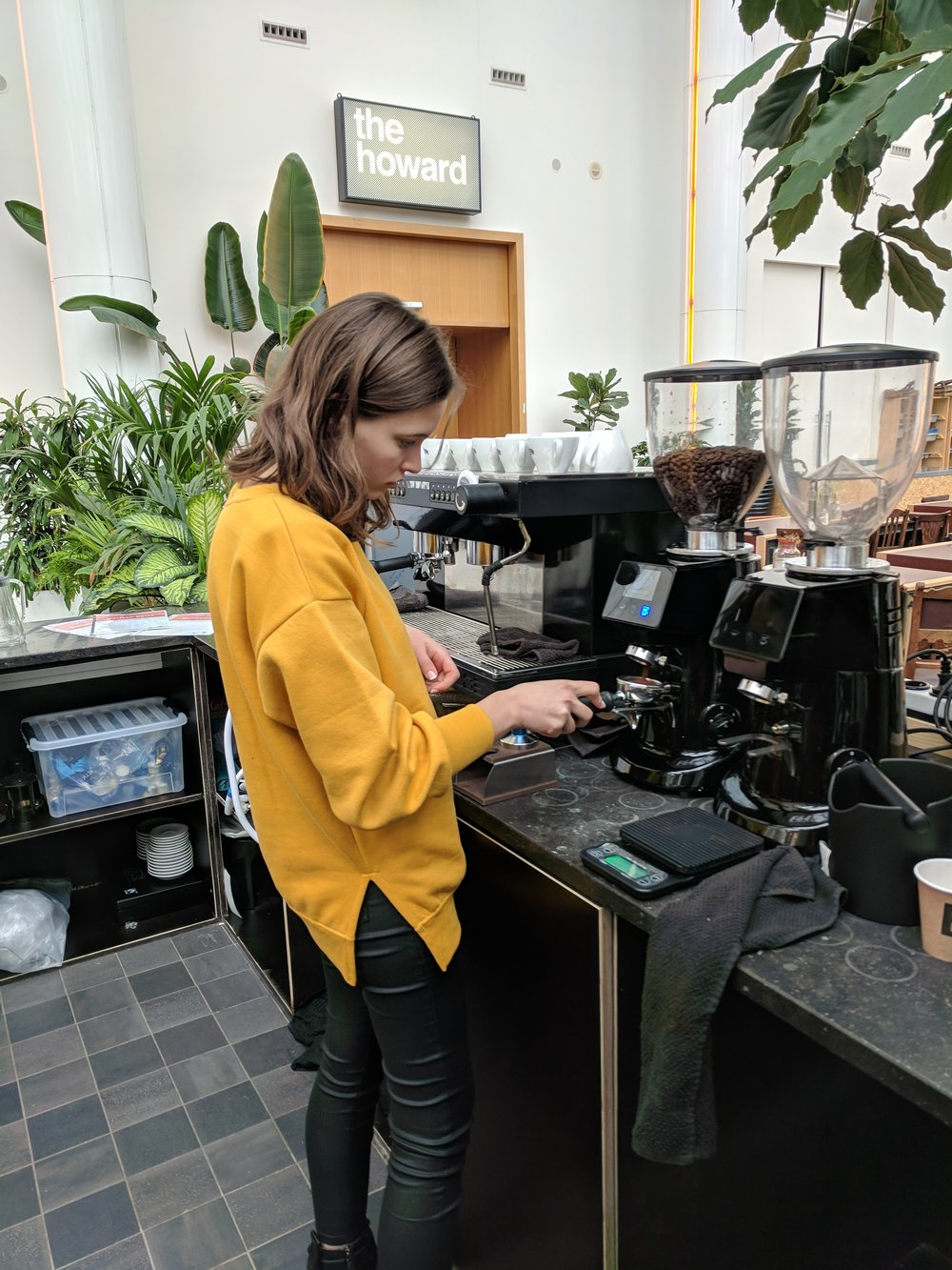 Barista Intermediate - Sept, 2018 Amsterdam