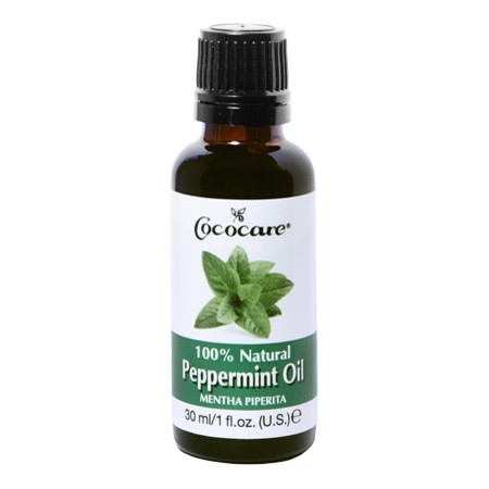 Natural peppermint oil for long natural hair