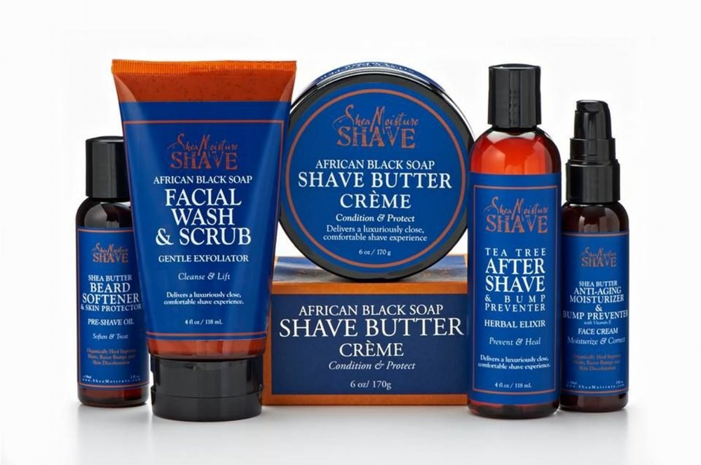 Shea moisture shaving products