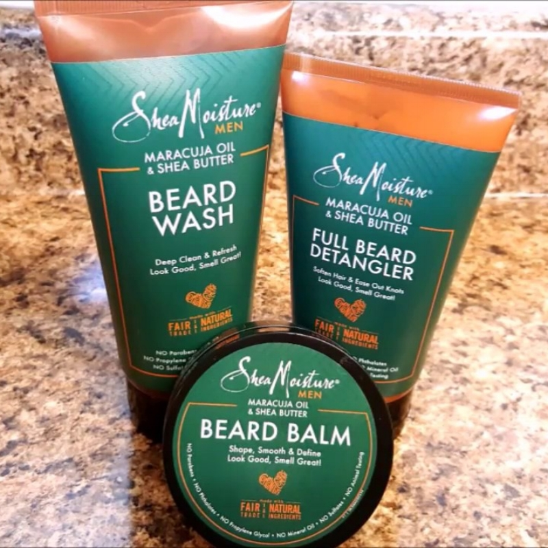 Shea Moisture for men products