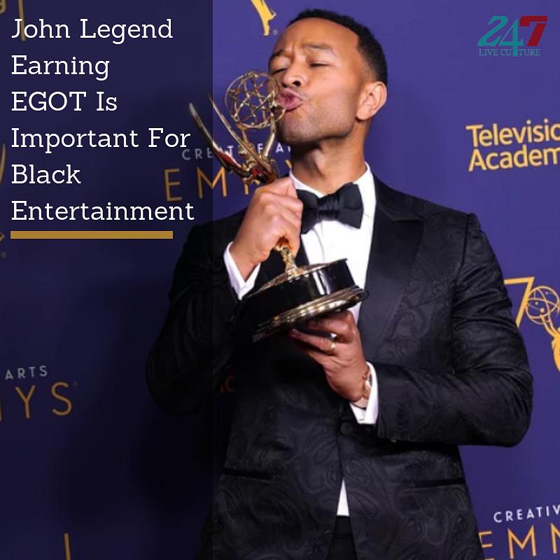 JC Olivera/WireImage - John Legend Earns EGOT