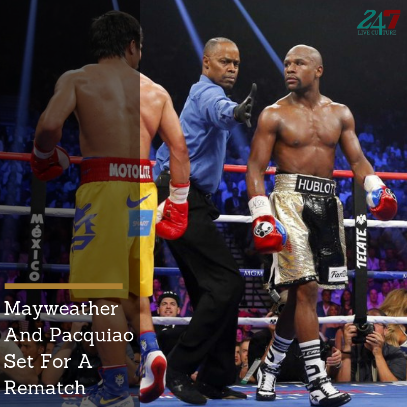 Floyd Mayweather Vs Manny Pacquiao Is The Matchup We All Don't Care To See, But We'll Still Watch