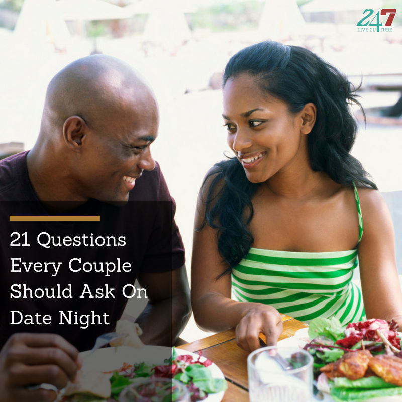 Questions you and your partner can ask on date night