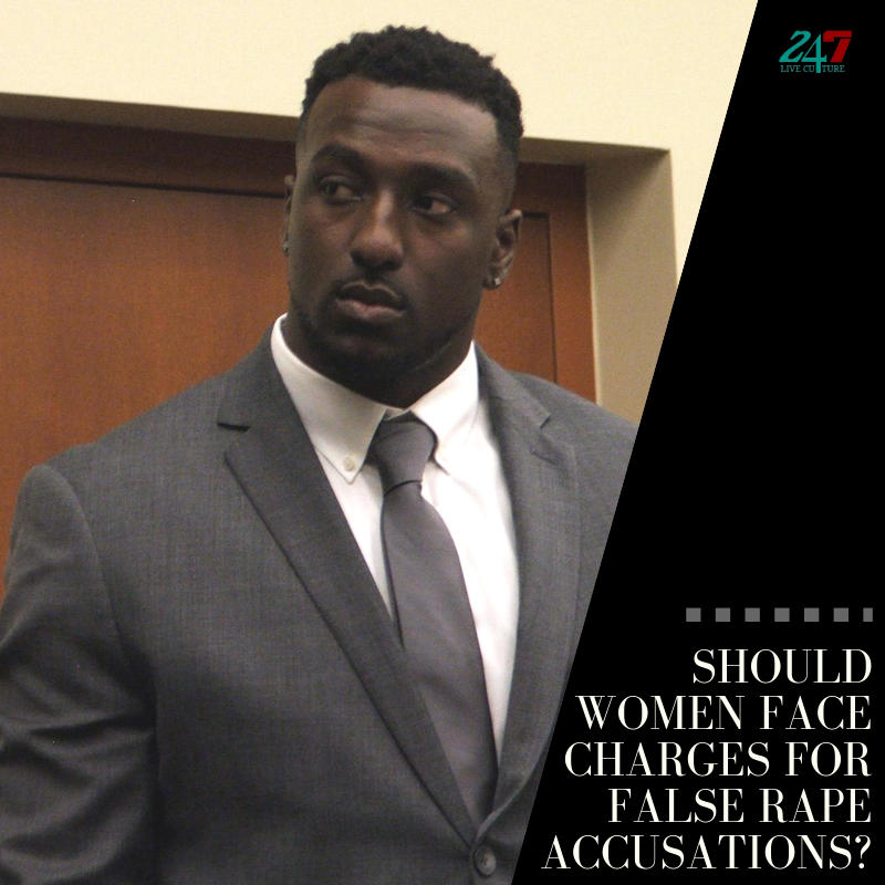 Should Women Face Charges For False Rape Accusations?