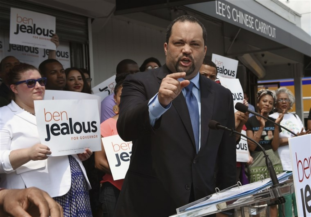 Jealous is the former President and CEO of the National Association for the Advancement of Colored People (NAACP) and has advocated for reducing the state's prison population, and working to reimburse teachers who are using their own money to pay for school supplies for their classrooms and and also wants to get rid of the the sales tax.