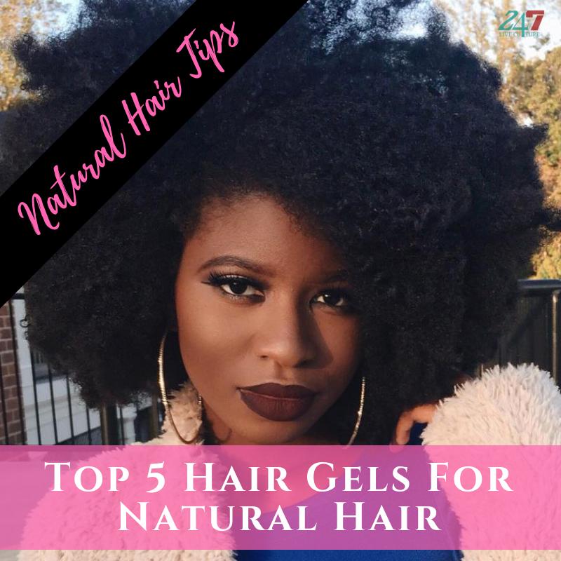 Top 5 Hair Gels For Natural Hair
