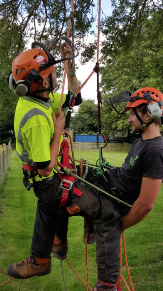 Practising Aerial Rescue