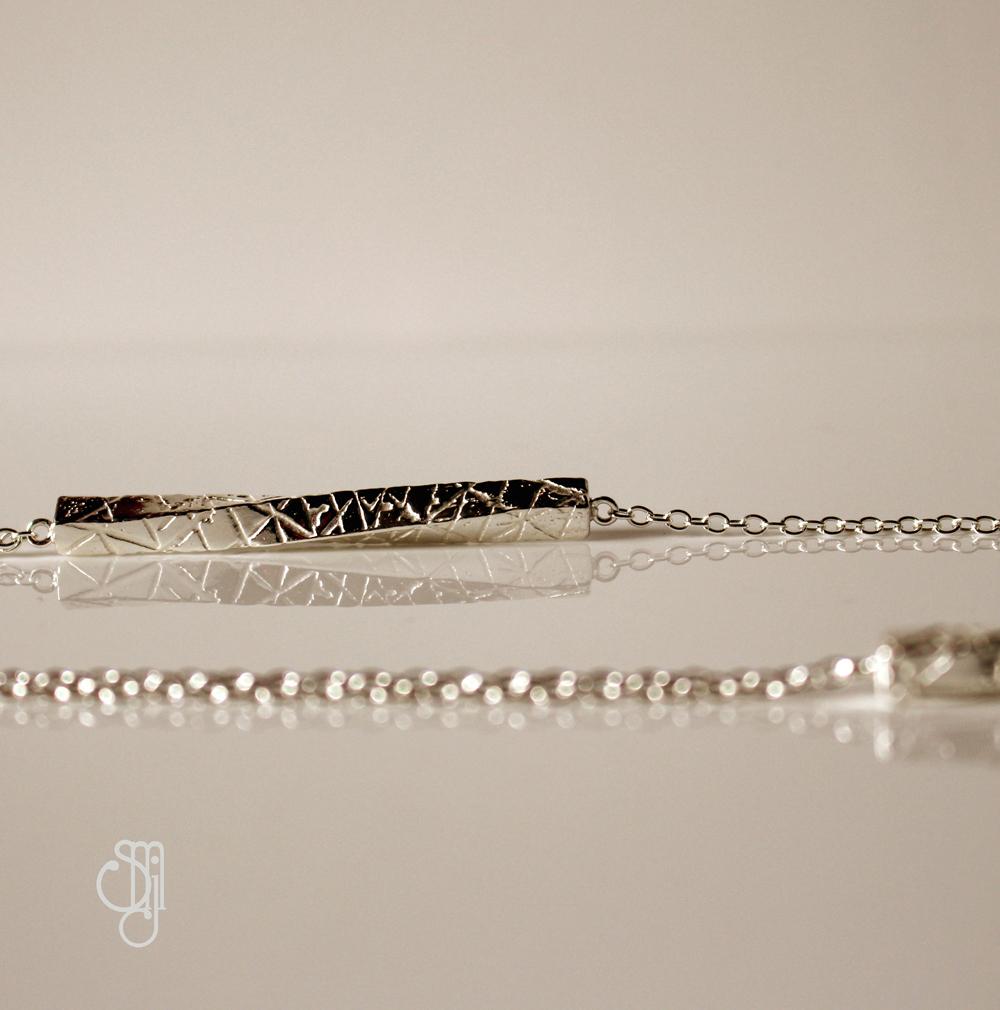 Parrallel Lines Necklace