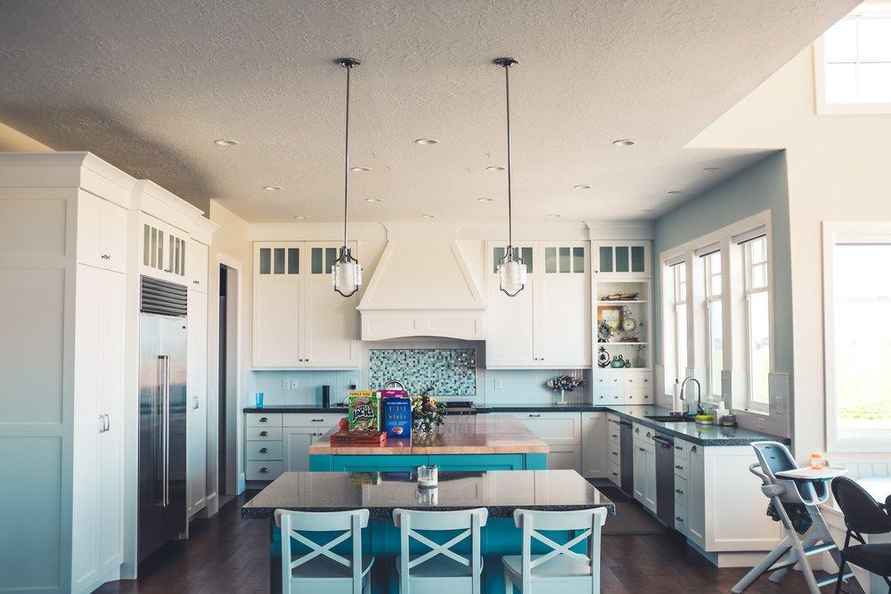 Unique Take On A Modern Kitchen