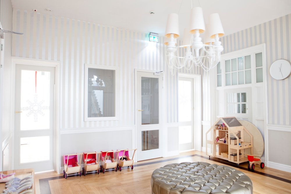 French Country Modern Children's Room