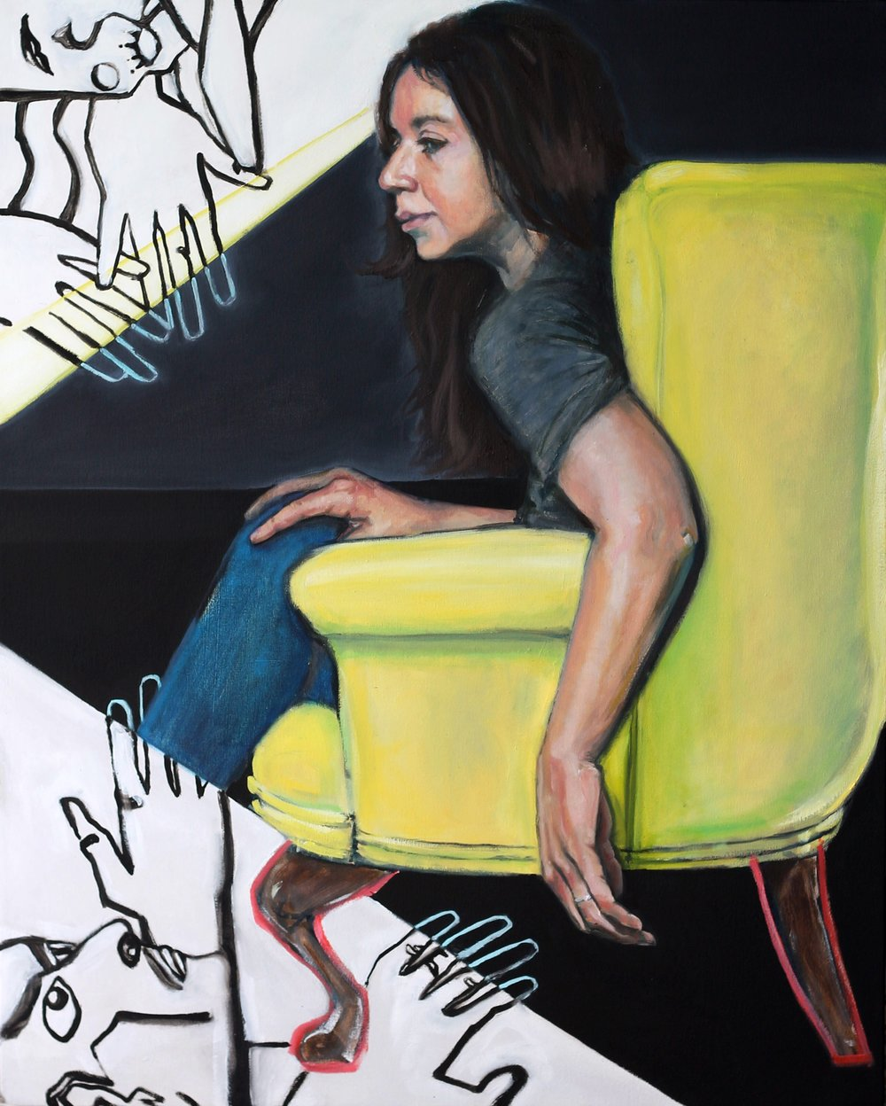 Yellow Chair No.2