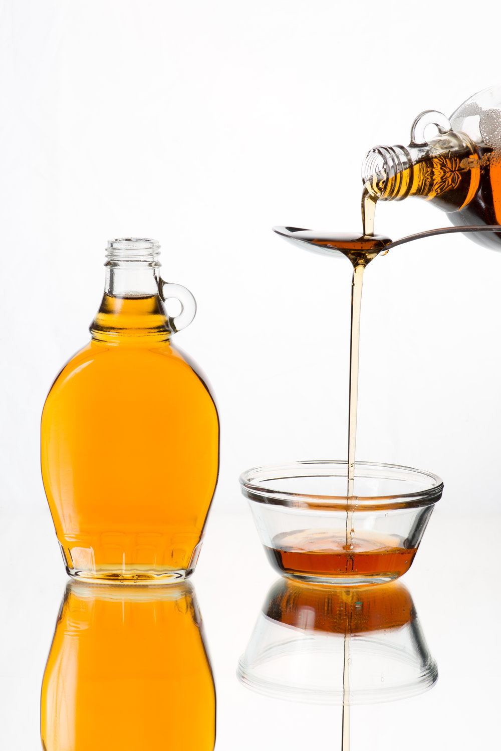 Maple Syrup - Maple syrup is an unrefined natural sweetener that goes into our drinks just as pure as it comes out of the tree.  It provides a unique taste to our exclusive syrup blend. It's lower in calories than honey but also contains antioxidants and nutrients.