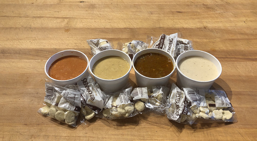 You, people of Denver, need our soups. Made fresh daily.