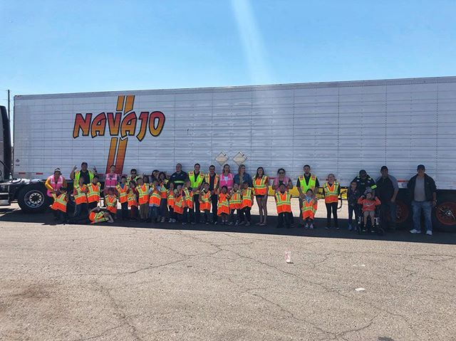 We had a BLAST on Bring Your Kids to Work Day! #navajoexpressinc
