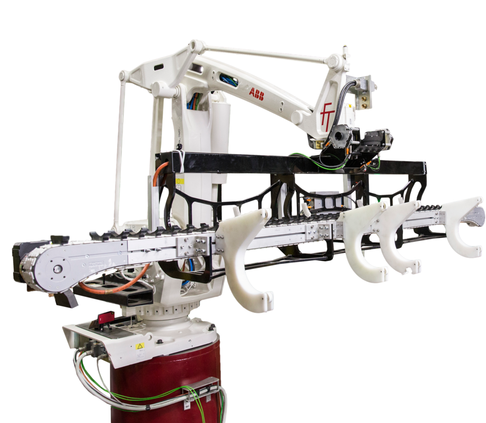 We design and build a custom end-of-arm robotic tooling solution that is essential to automating your unique process. -
