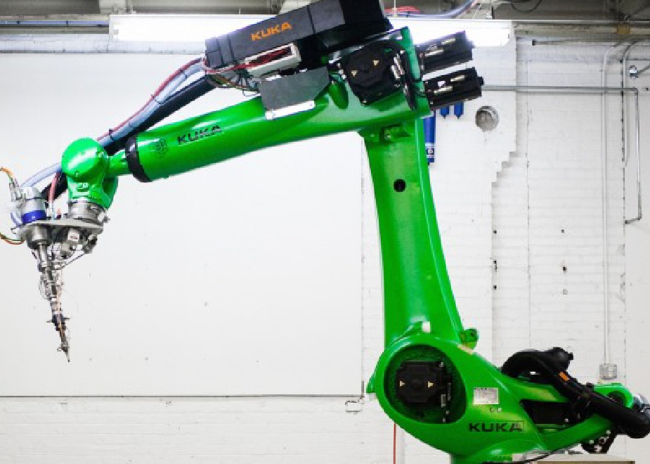 KUKA Additive Construction Robot