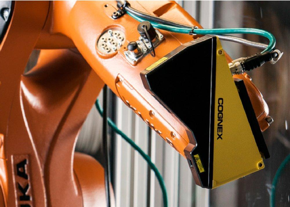 KUKA COGNEX Robotic Vision System