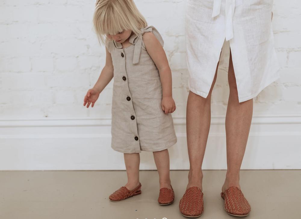nové pantoflíčky pro mámu i mini - ten správný gypsy nomad look